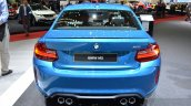 BMW M2 rear at the 2016 Geneva Motor Show Live