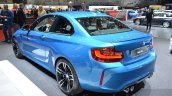 BMW M2 rear three quarter at the 2016 Geneva Motor Show Live
