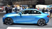 BMW M2 side at the 2016 Geneva Motor Show Live