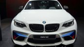 BMW M2 with M Performance Parts front at 2016 Geneva Motor Show