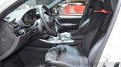 BMW X4 M40i driver seat at 2016 Geneva Motor Show