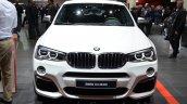 BMW X4 M40i front at 2016 Geneva Motor Show