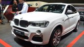BMW X4 M40i front three quarter at 2016 Geneva Motor Show