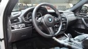 BMW X4 M40i interior at 2016 Geneva Motor Show