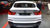 BMW X4 M40i rear at 2016 Geneva Motor Show