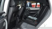 BMW X4 M40i rear seat at 2016 Geneva Motor Show