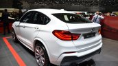 BMW X4 M40i rear three quarter at 2016 Geneva Motor Show