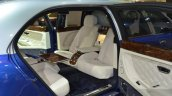 Bentley Mulsanne Grand Limousine by Mulliner front rear facing seats at 2016 Geneva Motor Show