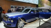 Bentley Mulsanne Grand Limousine by Mulliner front three quarter at 2016 Geneva Motor Show