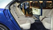 Bentley Mulsanne Grand Limousine by Mulliner rear seats at 2016 Geneva Motor Show