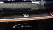 Bugatti Chiron Bugatti badge at the 2016 Geneva Motor Show