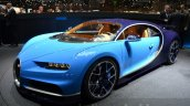 Bugatti Chiron at the 2016 Geneva Motor Show