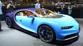 Bugatti Chiron front three quarter at the 2016 Geneva Motor Show