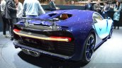 Bugatti Chiron rear right three quarter at the 2016 Geneva Motor Show