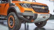 Chevrolet Colorado Xtreme front bumper at 2016 BIMS
