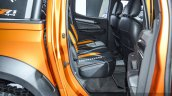 Chevrolet Colorado Xtreme rear seat at 2016 BIMS