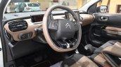 Citroen C4 Cactus W steering wheel at the 2016 Geneva Motor Show Live