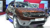 Dacia Duster Essential front three quarters at the 2016 Geneva Motor Show