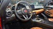 Fiat 124 Spider dashboard at 2016 Geneva Motor Show