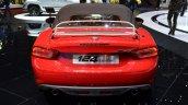 Fiat 124 Spider rear at 2016 Geneva Motor Show