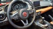 Fiat 124 Spider steering wheel at 2016 Geneva Motor Show