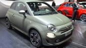 Fiat 500S front three quarters at the 2016 Geneva Motor Show