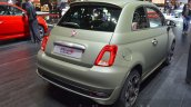 Fiat 500S rear three quarters at the 2016 Geneva Motor Show