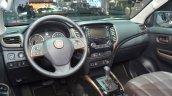 Fiat Fullback dashboard at 2016 Geneva Motor Show