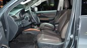 Fiat Fullback front seats at 2016 Geneva Motor Show