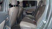 Fiat Fullback rear seats at 2016 Geneva Motor Show