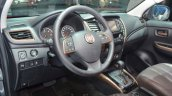 Fiat Fullback steering wheel at 2016 Geneva Motor Show