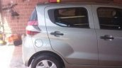 Fiat Mobi right side spy shot