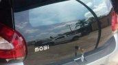 Fiat Mobi tailgate spy shot