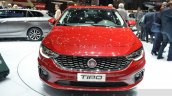Fiat Tipo hatchback front close at the Geneva Motor Show Live