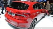 Fiat Tipo hatchback rear three quarter at the Geneva Motor Show Live