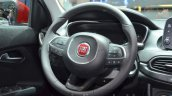 Fiat Tipo hatchback steering wheel at the Geneva Motor Show Live