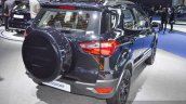 Ford EcoSport Black Edition rear right three quarter at 2016 BIMS