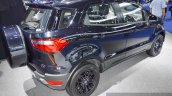 Ford EcoSport Black Edition rear three quarter profile at 2016 BIMS