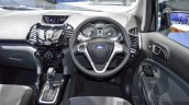 Ford EcoSport Black Edition steering wheel at 2016 BIMS