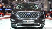 Ford Edge Vignale front at 2016 Geneva Motor Show