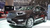 Ford Edge Vignale front quarter at 2016 Geneva Motor Show