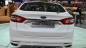 Ford Mondeo Vignale rear at 2016 Geneva Motor Show