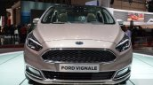 Ford S-Max Vignale front at the 2016 Geneva Motor Show Live