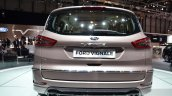 Ford S-Max Vignale rear at the 2016 Geneva Motor Show Live