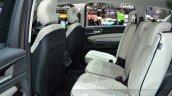 Ford S-Max Vignale rear cabin at the 2016 Geneva Motor Show Live