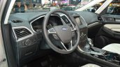 Ford S-Max Vignale steering at the 2016 Geneva Motor Show Live