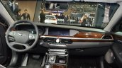 Genesis G90 dashboard at the 2016 Geneva Motor Show