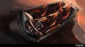 Genesis New York Concept cabin rendering