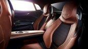 Genesis New York Concept rear seats