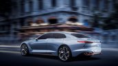 Genesis New York Concept rear three quarters in motion